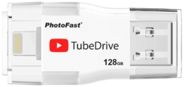 PhotoFast USB-Sticks »TubeDrive 128GB USB 3.0 up to iPhone 7«